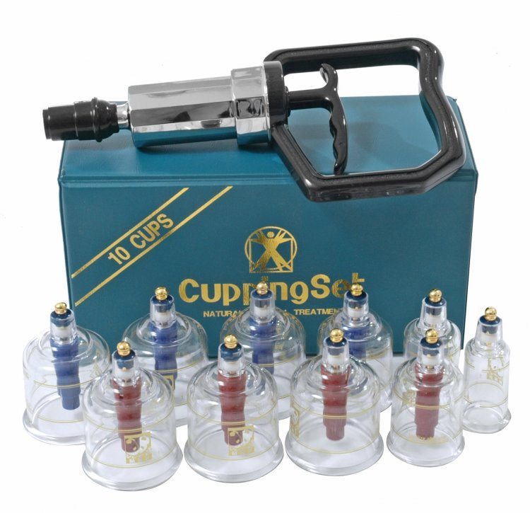 10 Piece Cupping System